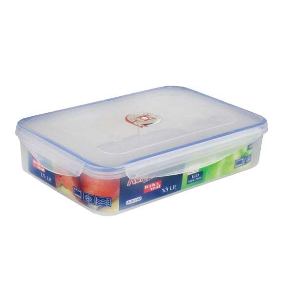 ظرف فریزری پلاستیکی آوا 3900 سی سی