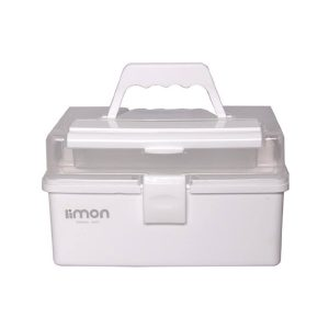 جعبه لوازم خیاطی لیمون ساده
