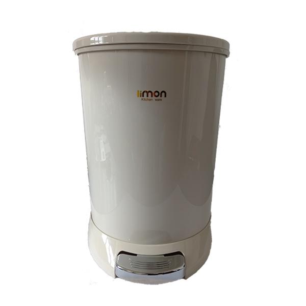 سطل گرد 15 لیتر متوسط الوان لیمون