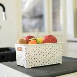 سبد پلاستیکی میوه و سبزیجات آریسام 2