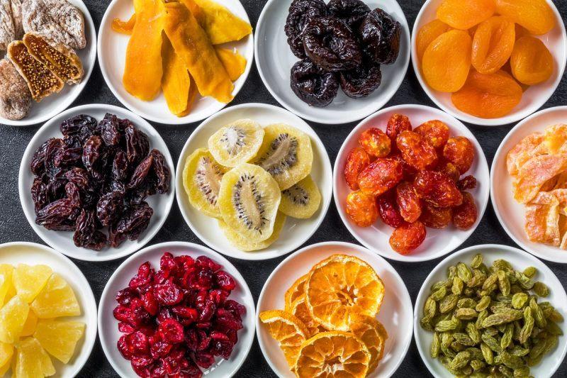 طرز صحیح خشک کردن میوه ها ( چیپس میوه )