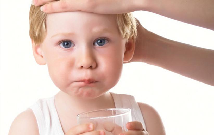 کم آبی بدن کودکان