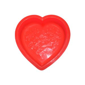 قالب ژله سیلیکونی قلبی