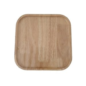 بشقاب چوبی مربع بزرگ