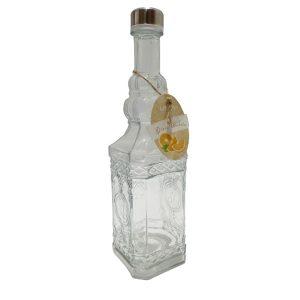بطری آب درب استیل لیمون