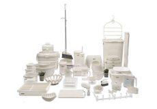 سرویس-پلاستیک-جهیزیه-لیمون-مدل-نارین-58-رنگ-سفید-پارچه